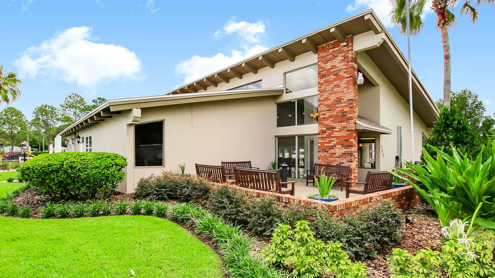 Carriage Cove Manufactured Homes Community Clubhouse in Sanford, FL