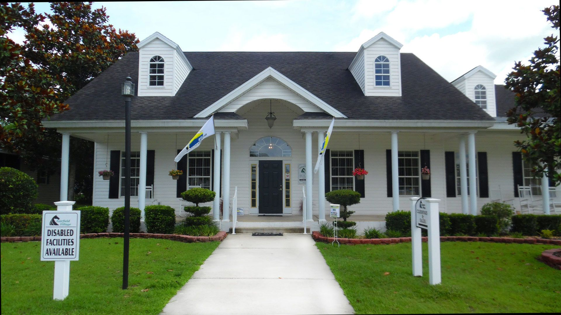 Fairfield Village 55+ Manufactured Homes Community Clubhouse in Ocala, FL