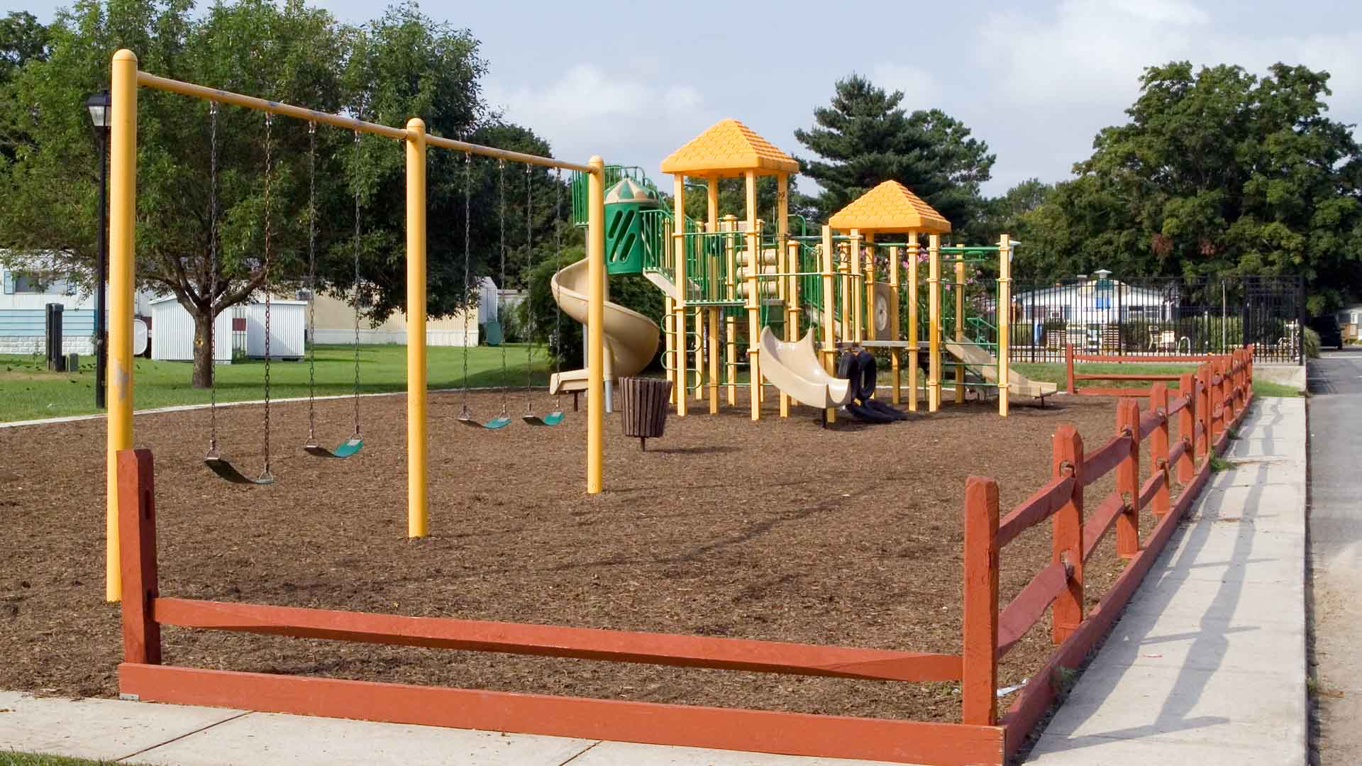 High Point Manufactured Homes Community Playground in Frederica, DE