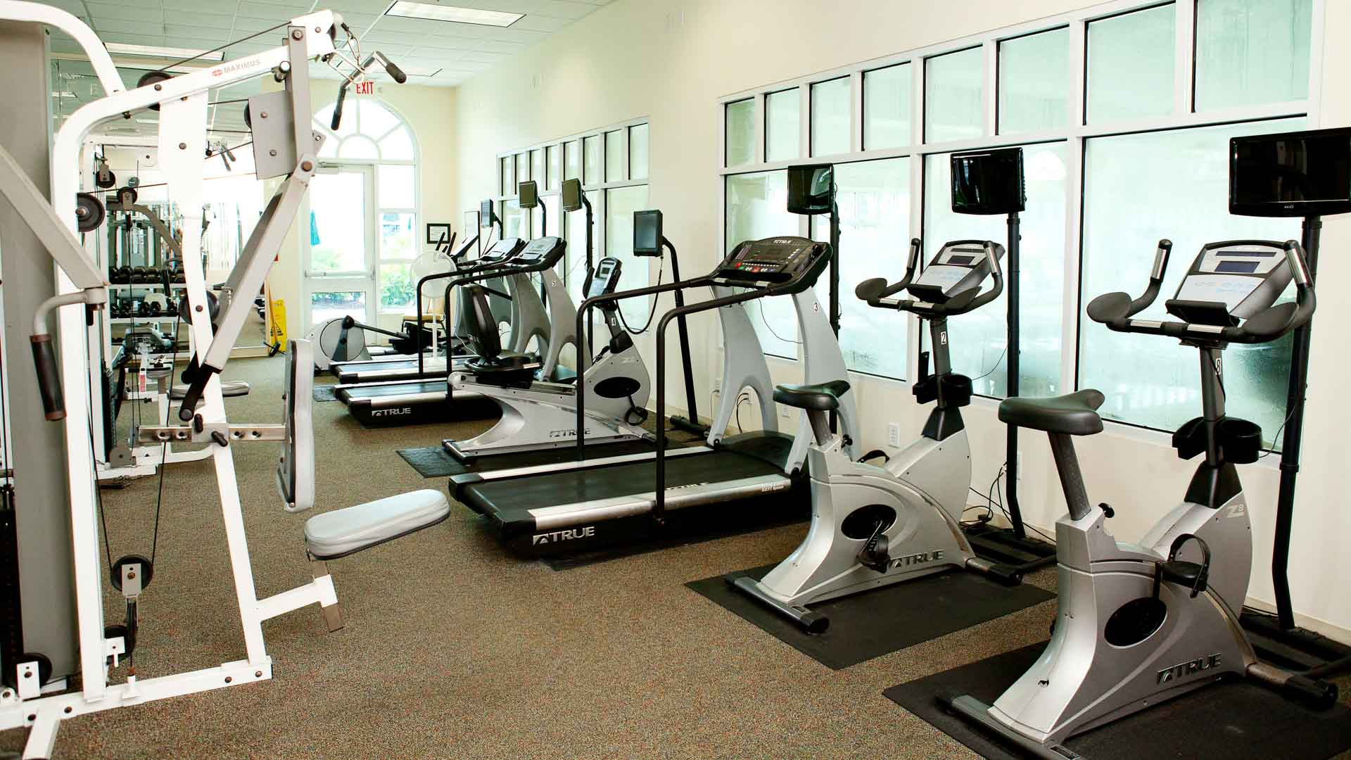 Lakeside Crossing 55+ Manufactured Homes Community Fitness Center in Conway, SC