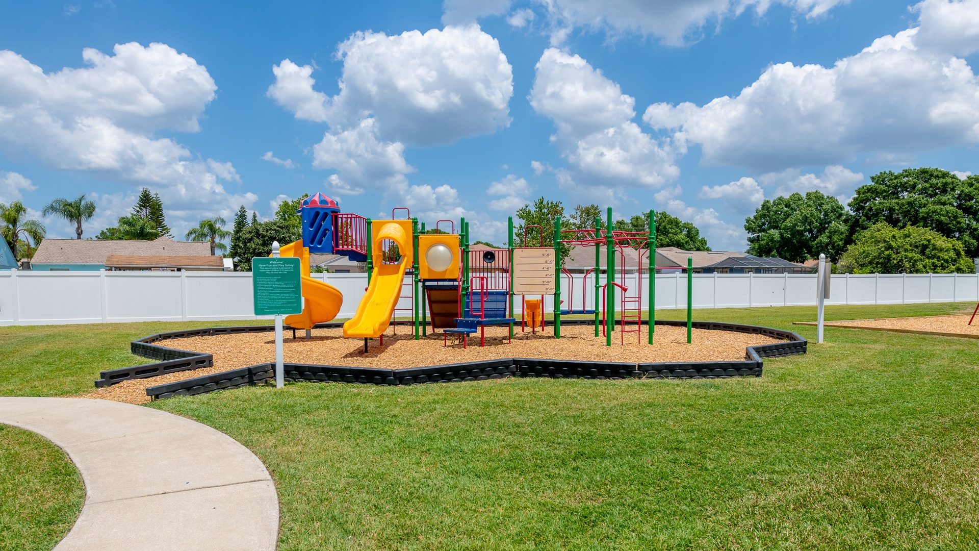 Meadowbrook Village Manufactured Homes Community Playground in Tampa, FL