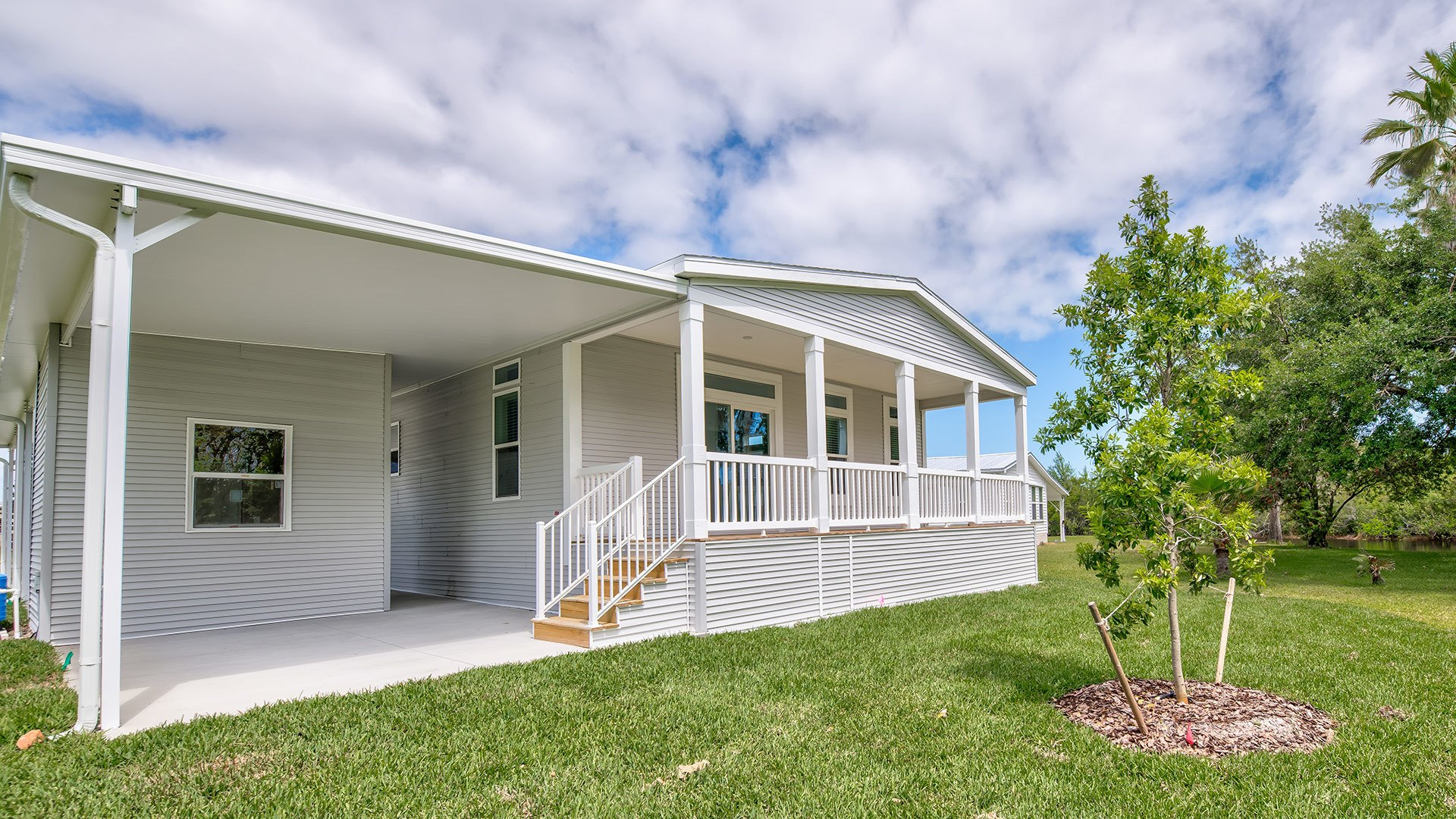 Park Place 55+ Manufactured Homes Community New Construction in Sebastian, FL