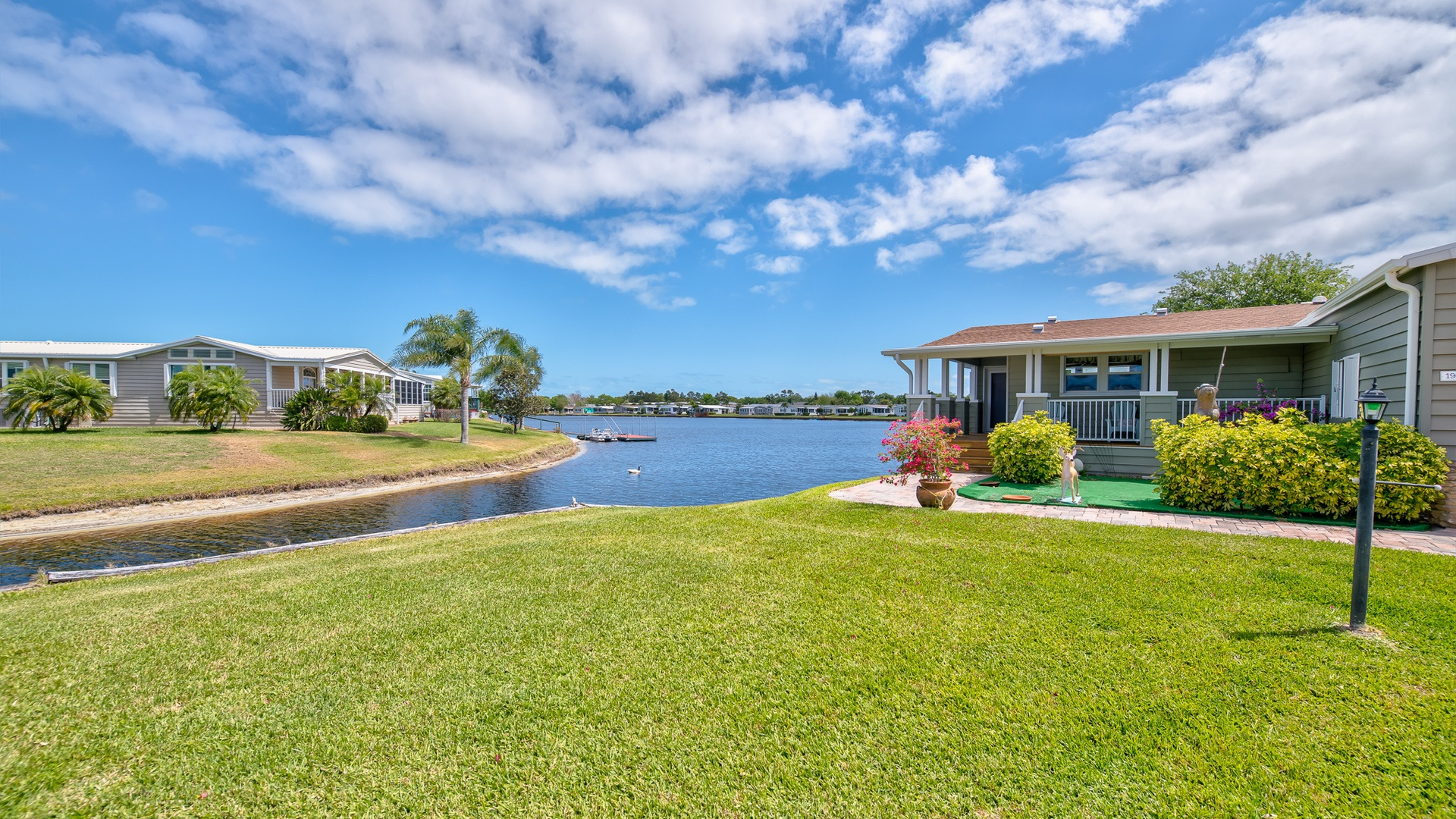 Park Place 55+ Manufactured Homes Community Lakefront in Sebastian, FL