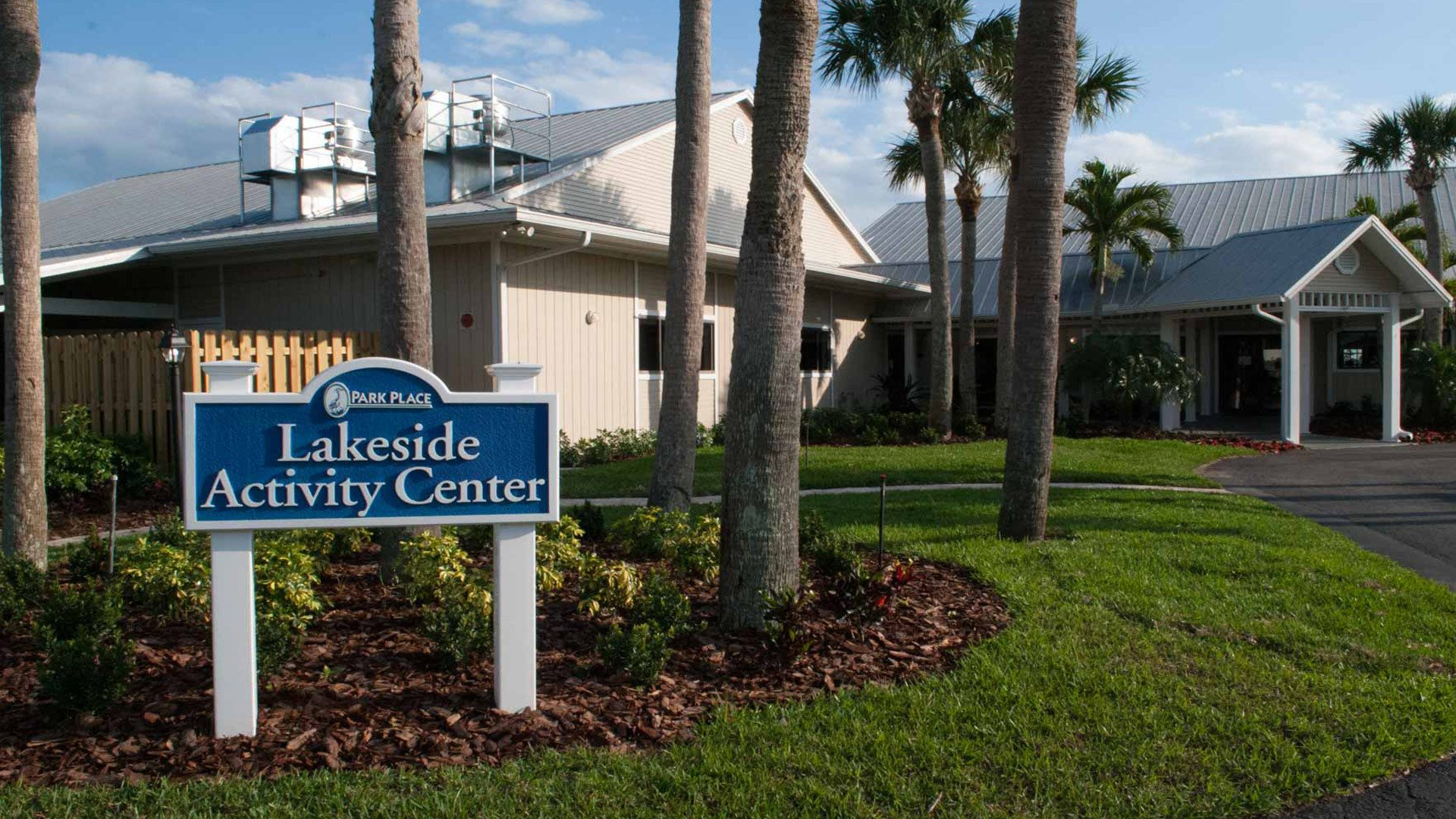 Park Place 55+ Manufactured Homes Community Lakeside Activity Center in Sebastian, FL