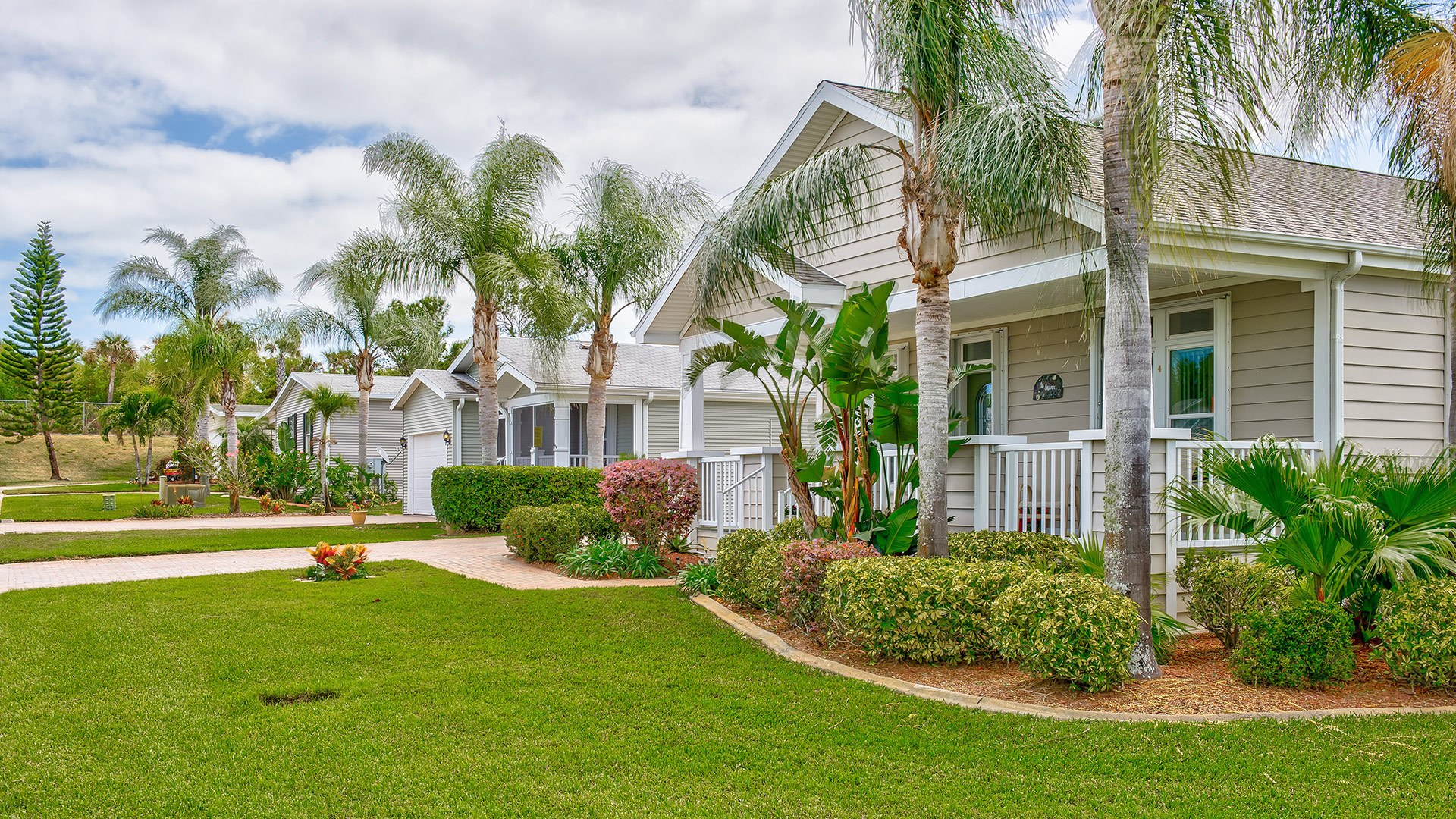 Park Place 55+ Manufactured Homes Community Street View in Sebastian, FL