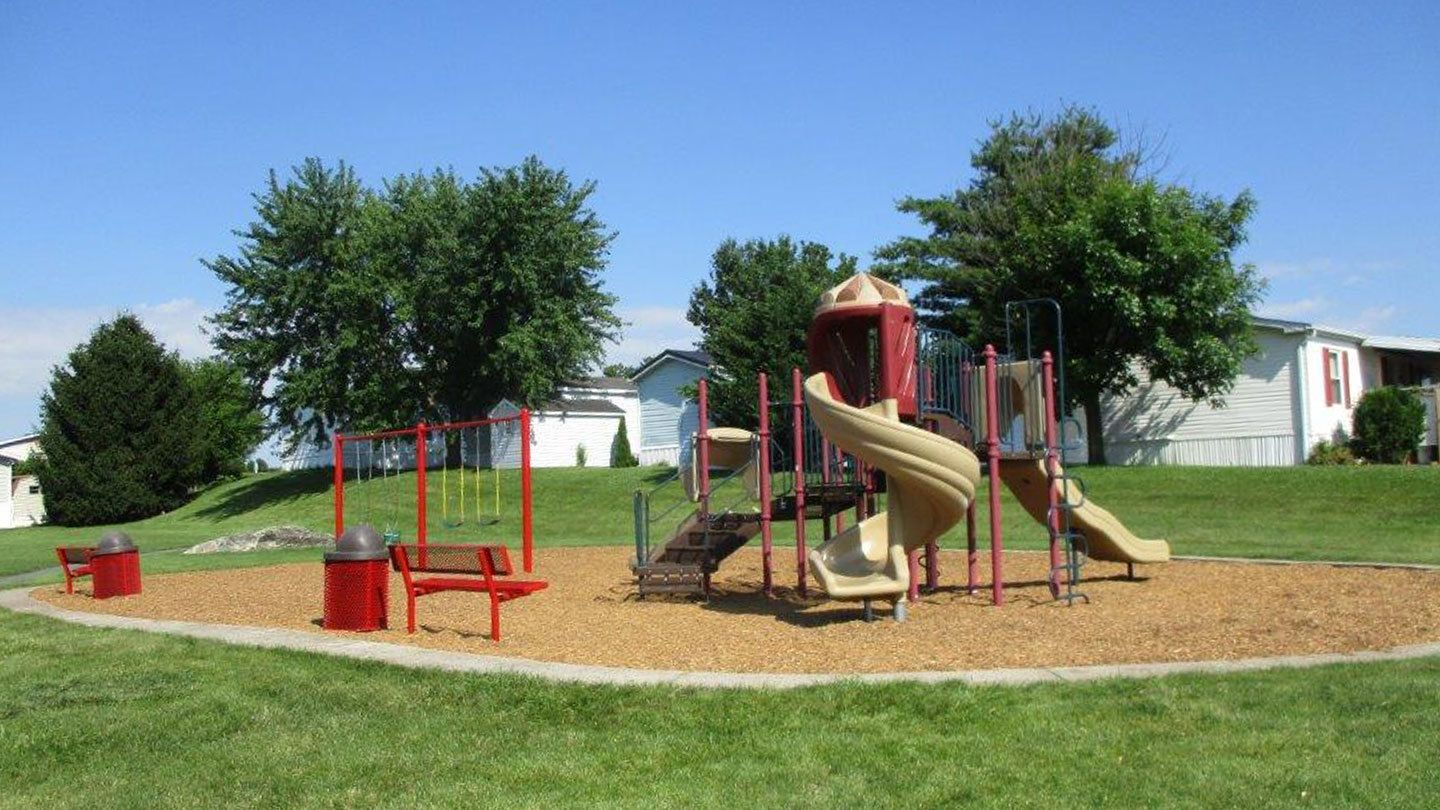 Playground at Pheasant Ridge Manufactured Home Community in Lancaster PA