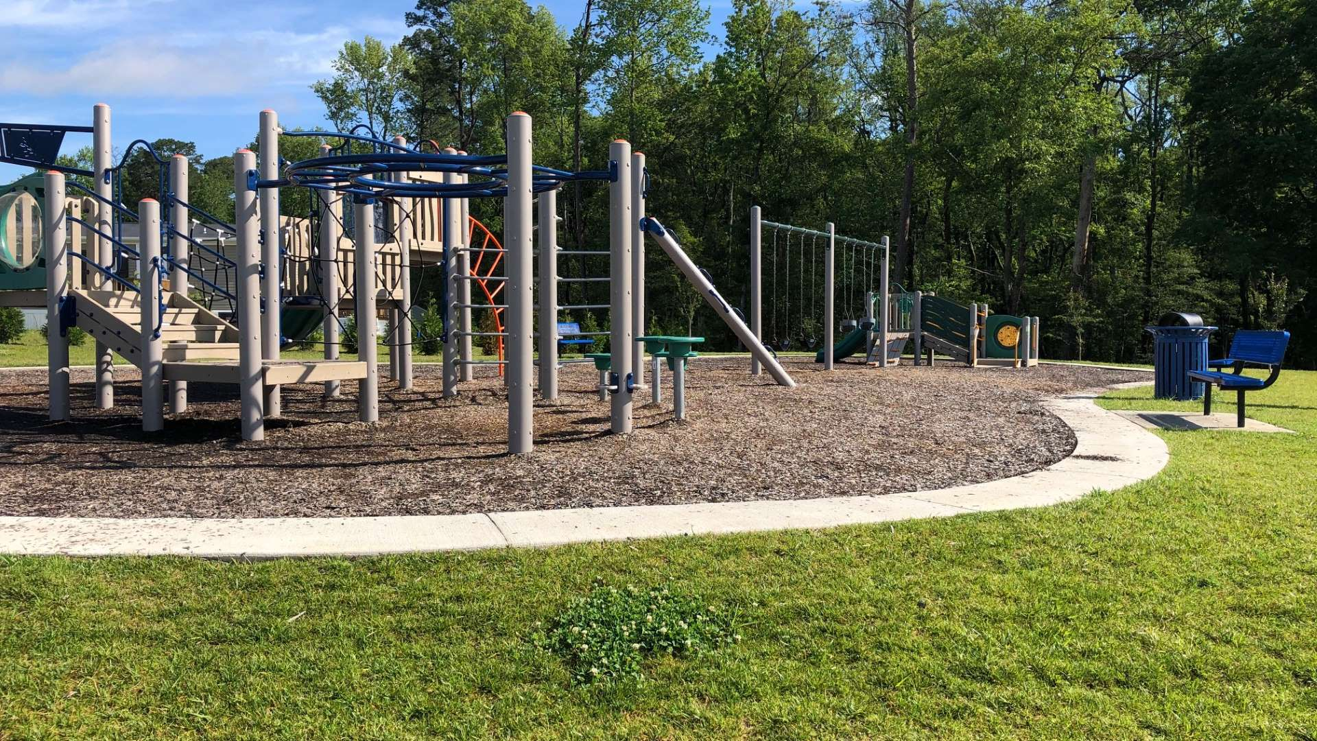 Playground at Pine Ridge Manufactured Home Community in Prince George VA