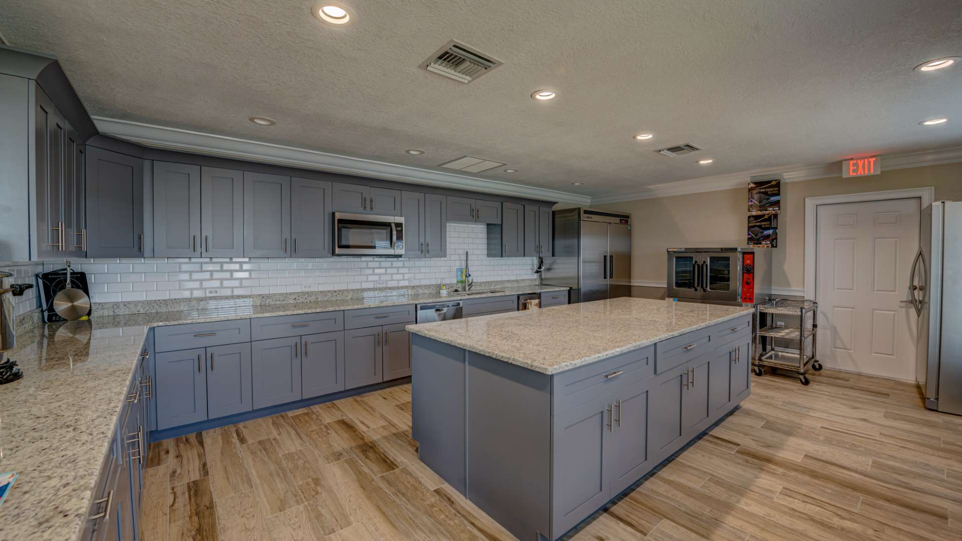 Clubhouse Kitchen at Shadow Wood Village 55+ Manufactured Home Community in Hudson FL