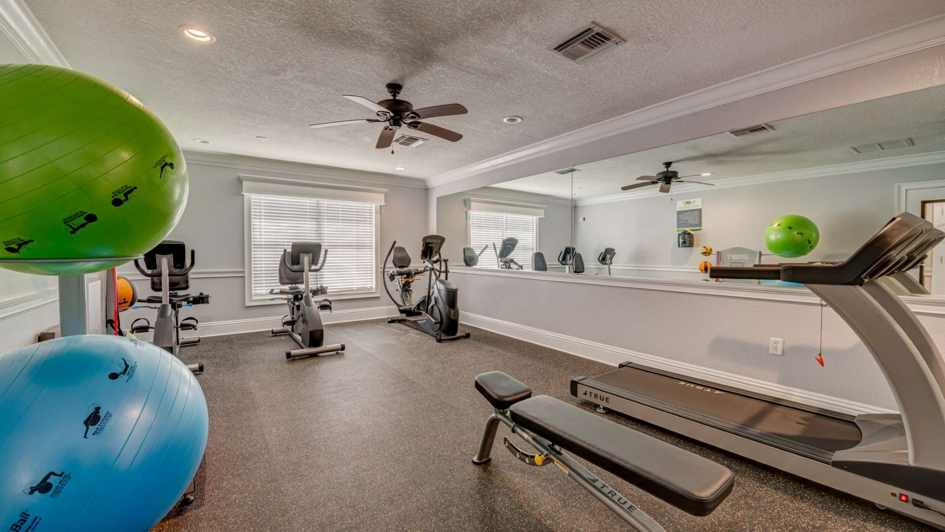 Fitness Center at Shadow Wood Village 55+ Manufactured Home Community in Hudson FL