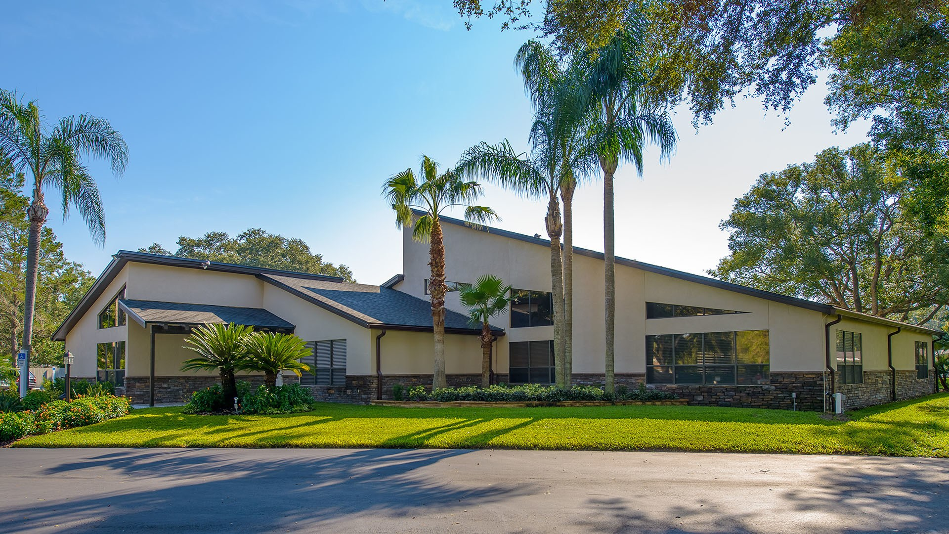 Clubhouse at Sundance 55+ Manufactured Home Community in Zephyrhills FL