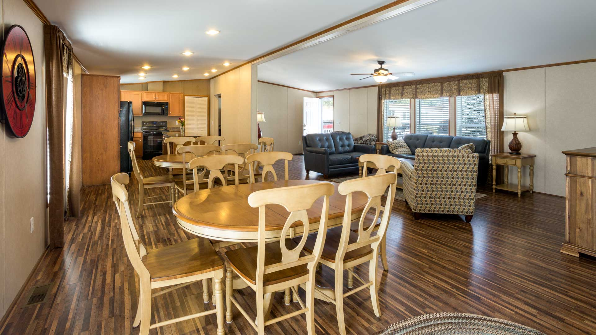 Community Center Interior at Town and Country Village Manufactured Homes in Lisbon ME