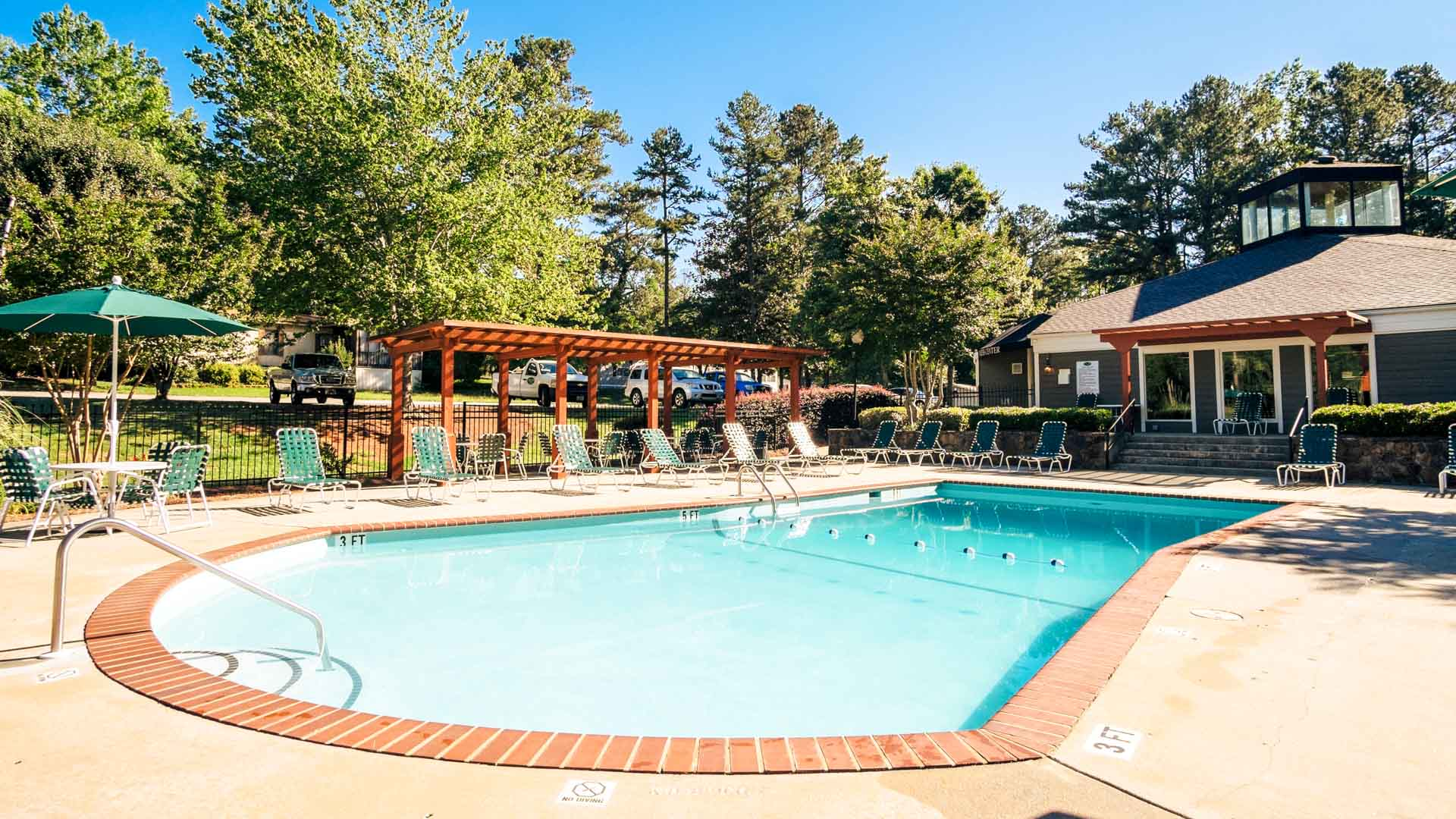 Countryside Village of Gwinnett Manufactured Homes Community Swimming Pool in Buford, GA