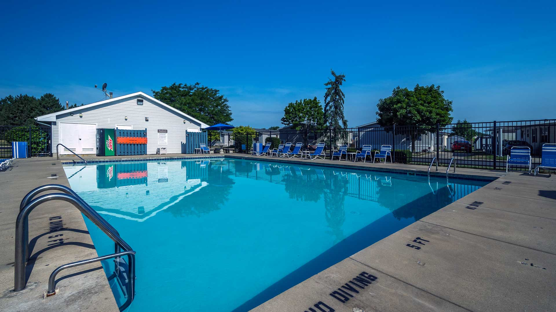 Westbrook Village Manufactured Homes Community Swimming Pool in Toledo, OH