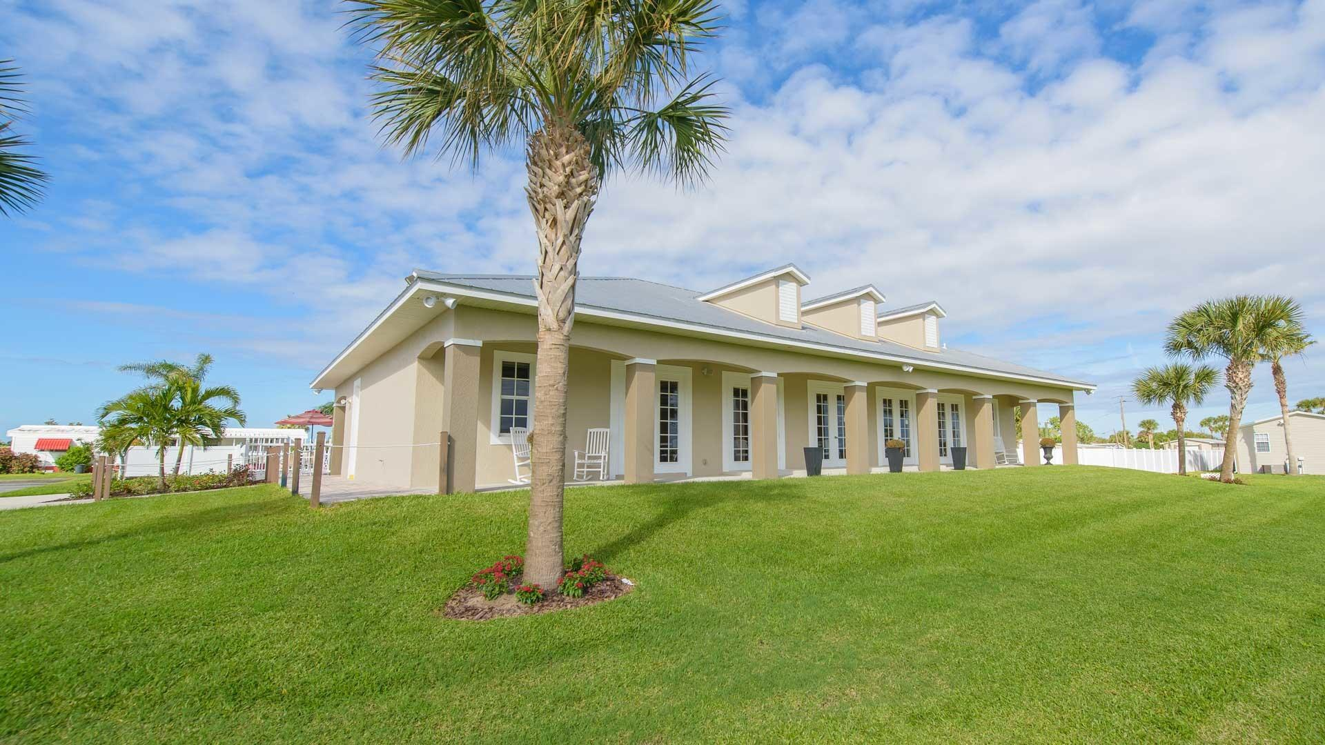 Pelican Bay 55+ Manufactured Homes Community Clubhouse in Micco, FL